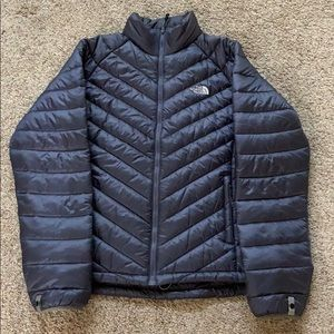 Like New Purple Gray North Face Coat Large
